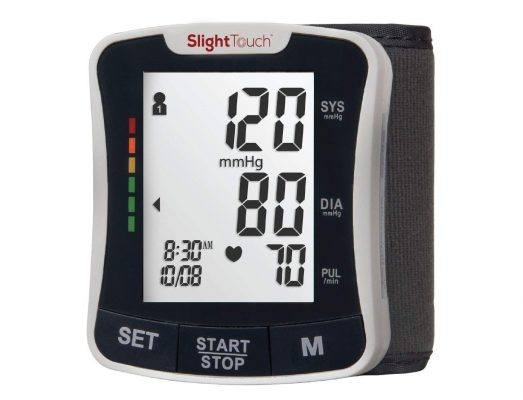 Slight Touch FDA Approved Fully Automatic Wrist Digital Blood Pressure Monitor
