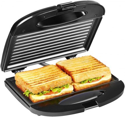Solimo Non-Stick Grill Sandwich Maker