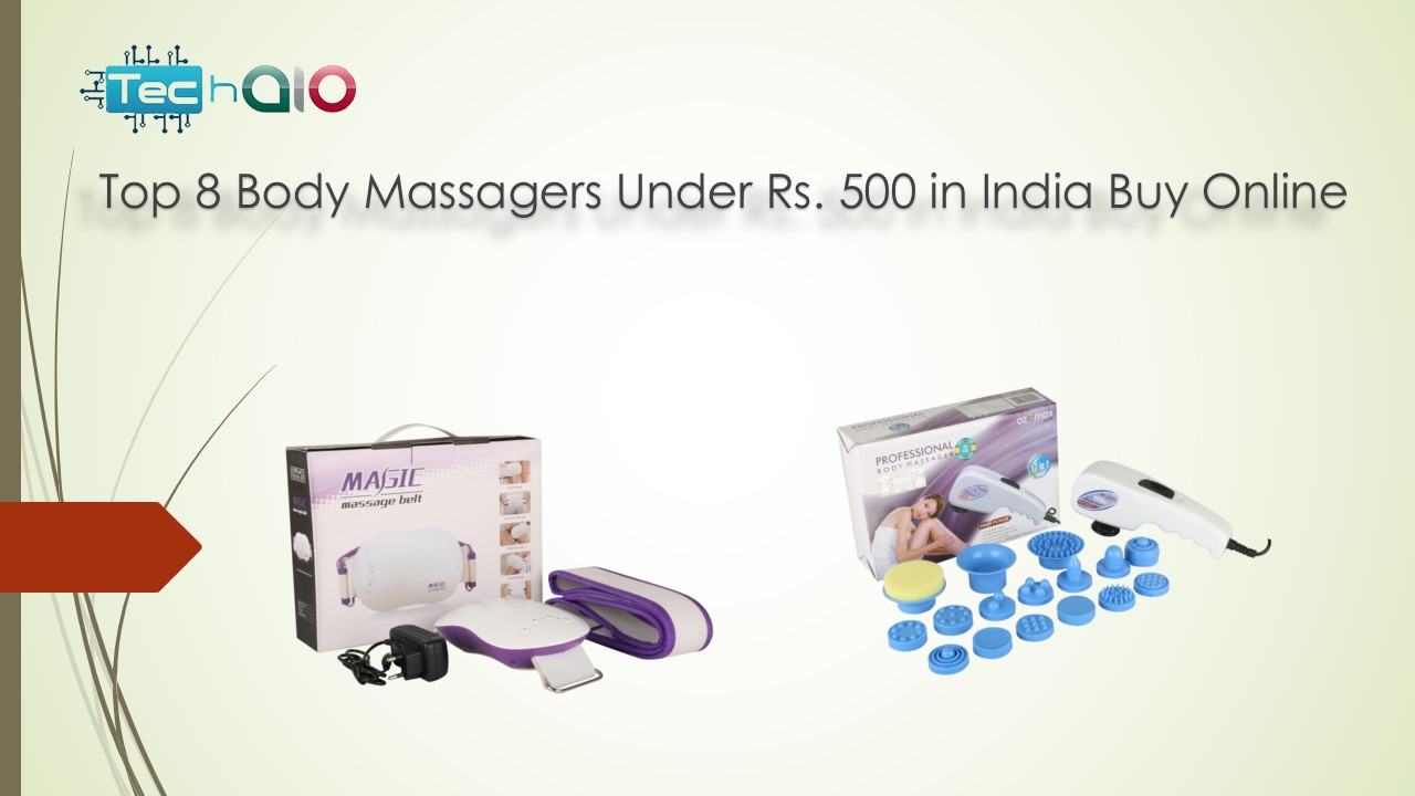 Top 8 Body Massagers Under Rs. 500 in India Buy Online