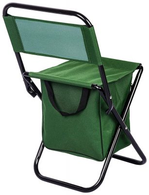 VelKro Greeen Color Multipurpose Folding Steel Chair