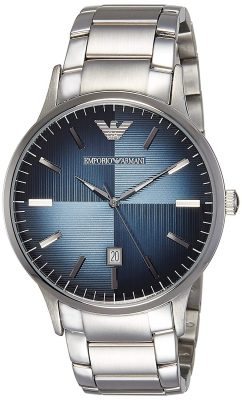 Emporio Armani Analog Blue Dial Men's Watch - AR2472