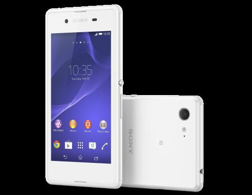 Sony Xperia E3 - Latest Smartphones under 10000
