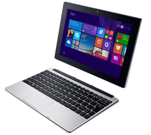 Acer One S1001 10-inch 2 in 1 Touch screen Laptop