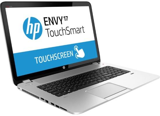 HP Envy 17-j130us - best laptops under 1000 dollars