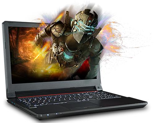 SAGER NP7258 15.6-inch Gaming Laptop