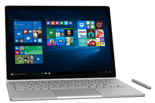 Microsoft_Surface_Book - Best Laptop/Notebooks under 1500 Dollars