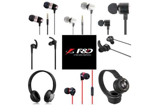 Best Headphones/Earphones with microphone to buy today F & D