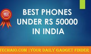 Best Phones Under 50000 in India