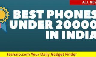 Best phones under 20000 in India in 2018