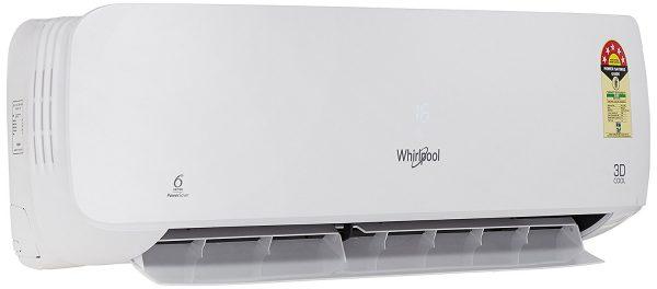 Whirlpool 1 Ton 3 Star (2018) Split AC (Copper, 1.0T 3D Cool 5s COPR, Snow White)