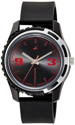 Analog Black Dial Men's Watch -NJ3114PP03C