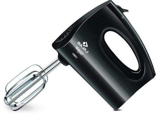 Bajaj HM 01 250-Watt Hand Mixer (Black)