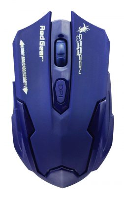 Dragon War Emera ELE-G11 3200 DPI Gaming Mouse (Dark Blue)