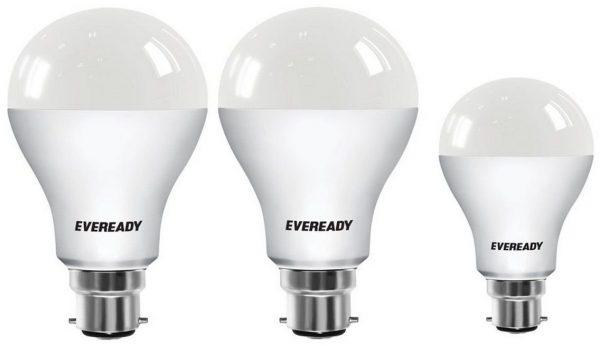 Eveready Base B22 14W Pack of 2 + 9W LED Bulbs