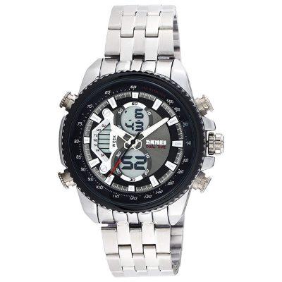 Faas Skmei Analog-Digital Chronograph Premium Black Dial Men's Watch – FA-0993