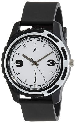 Fastrack Casual Analog White Dial Men's Watch -NJ3114PP01C