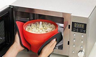 Generic Microwaveable Food Grade Popcorn Maker Bowl Microwave Safe New Kitchen Bakingware DIY Popcorn Bucket