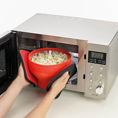 Generic Microwaveable Food Grade Popcorn Maker Bowl Microwave Safe New Kitchen Bakingware DIY Popcorn Bucket