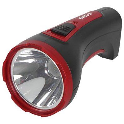 Havells Ranger 30 3-Watt Rechargeable LED Torch (Black)