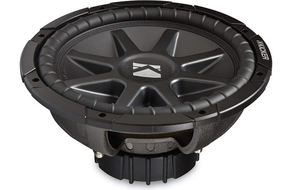 Kicker 10CVR124 12″ inch Dual 4 Ohm Comp VR Series Car Subwoofer