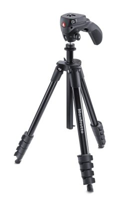 Manfrotto Compact Action Aluminium tripod with Hybrid Head
