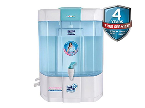 PURIFIER WOLD Kent Pearl 8-Litre Mineral RO+UV+UF Water Purifier With Computer Controlar system
