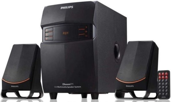 Philips MMS-2550F-94 2.1 Channel Multimedia Speakers System
