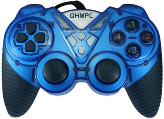 Quantum New USB Game Pad with Turbo Function