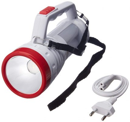 Rock Light RL-450WST 5-Watt Rechargeable LED Torch (Color May Vary)
