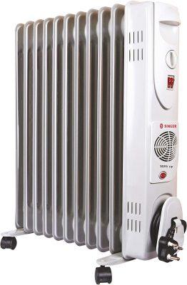 Singer OFR 11 FINS 2900 Watts Oil Filled Radiator Room Heater