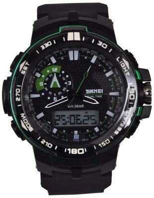 Skmei Calendar Analog - Digital Multi Color Dial Men's Watch