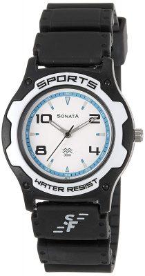 Sonata Analog Blue Dial Men's Watch - NF7921PP11J