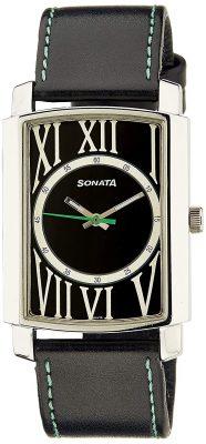 Sonata Yuva Analog Black Dial Men's Watch