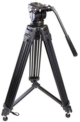 Sonia Pro 777 Tripod with Hydraulic Head & Bag