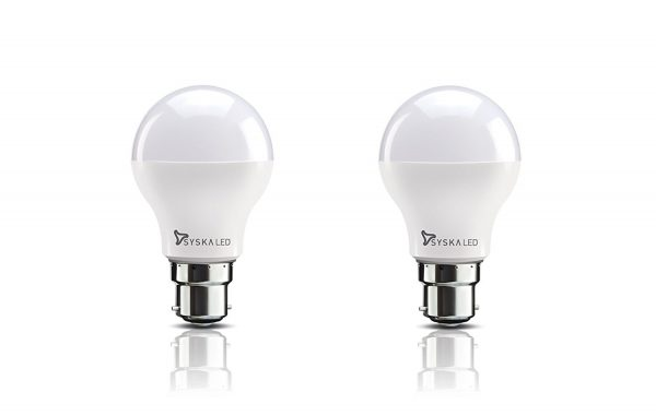 Syska B22 9-Watt LED Bulb