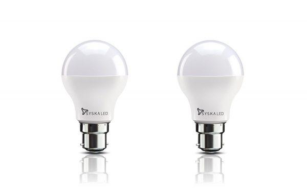 Syska B22 9-Watt LED Bulb