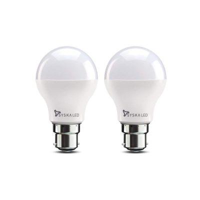 Syska Base B22 9-Watt LED Bulb