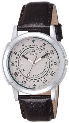 Timex Analog Off-White Dial Men's Watch