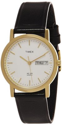 Timex Classics Analog Champagne Dial Men's Watch – A500