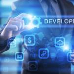 businessman-select-development-on-virtual-screen-397927255