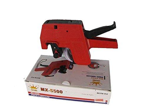 Batu Lee Hongsheng MX-5500 Price Labeler Printing Rate Printer Label Gun 8 Digits