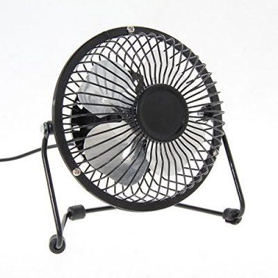 Absales Portable Stainless Steel USB Fan