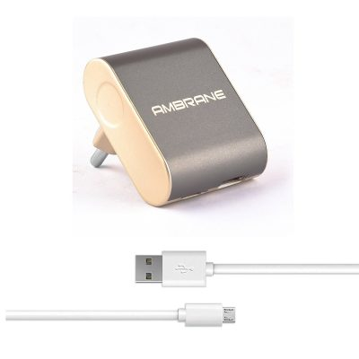 Ambrane ATC-44 2.4A Dual Port Fast Charger