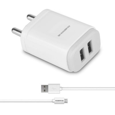 Ambrane AWC-22 2.1A Dual Port Fast Charger