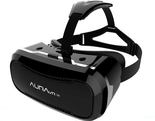 AuraVR Pro Fully Adjustable VR Glasses Headset