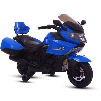 BAYBEE 6V AH Battery Operator Double Motor Sports Bike