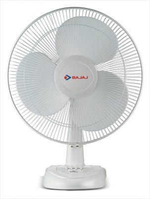 Bajaj Esteem Table Fan (White)