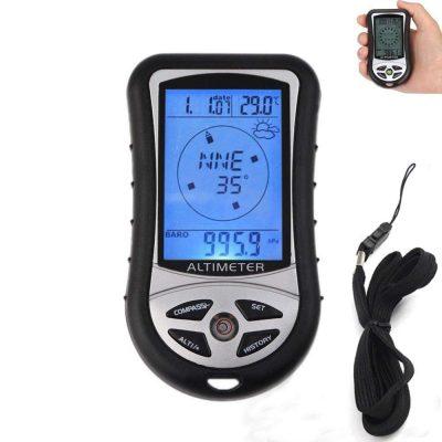 Electronic Digital 8 In 1 Altimeter Digital Altimeter