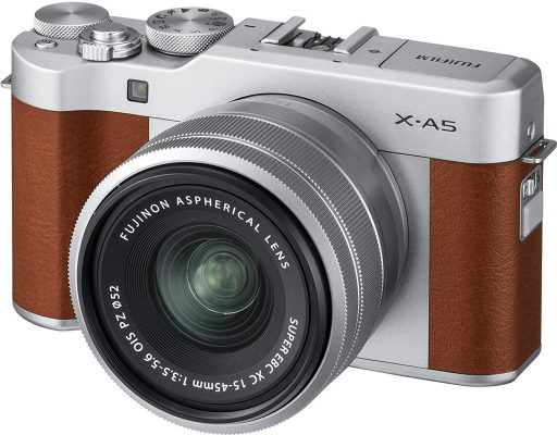 Fujifilm X-A5/ XC 15-45mm f3.5-5.6 OIS PZ Camera