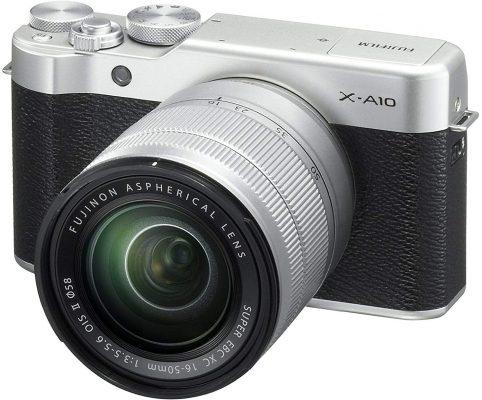 Fujifilm X-A10 XC16-50mm F3.5-5.6 OIS II Mirrorless Camera
